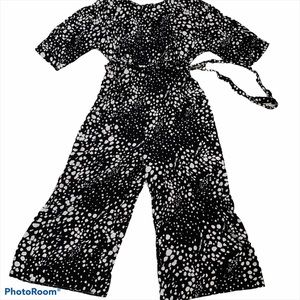 ASOS Black & White Polka Dot Jumpsuit